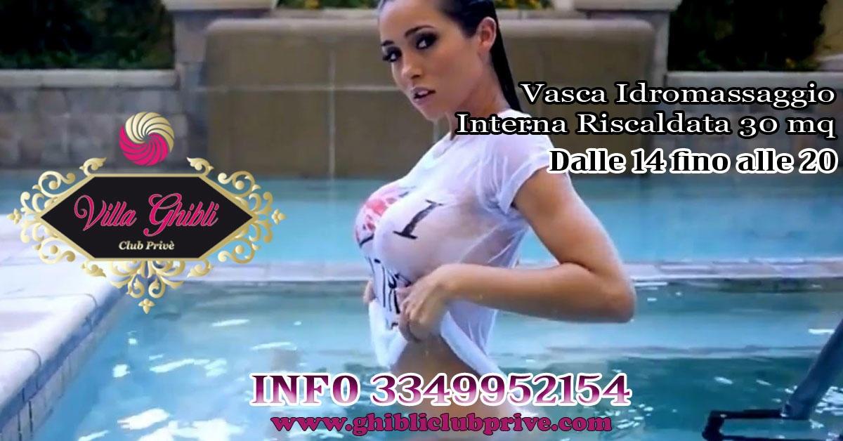 TERME CON VASCA IDROMASSAGGIO - Villa Ghibli a , Latina, Club Privè, Scambisti