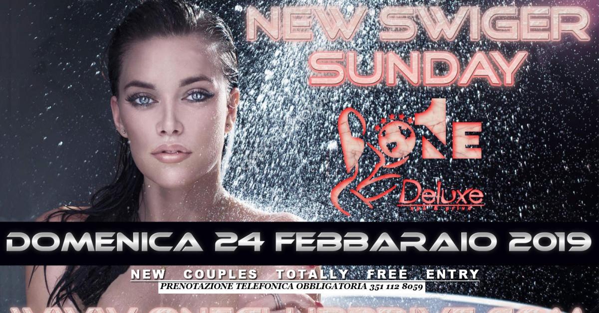 NEW SWINGER SUNDAY - ONE DELUXE a , Roma, Club Privè, Scambisti