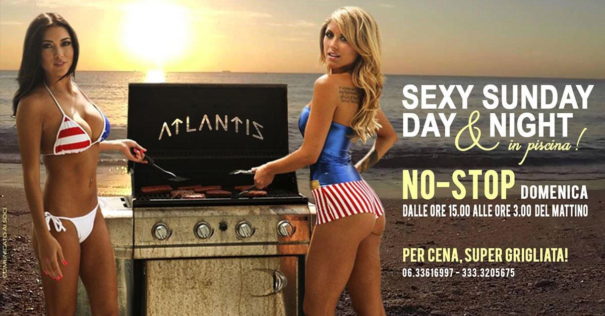 SEXY SUNDAY DAY&NIGHT ☀️🌛-  NO STOP - Il Mondo di Atlantis a , Roma, Club Privè, Scambisti