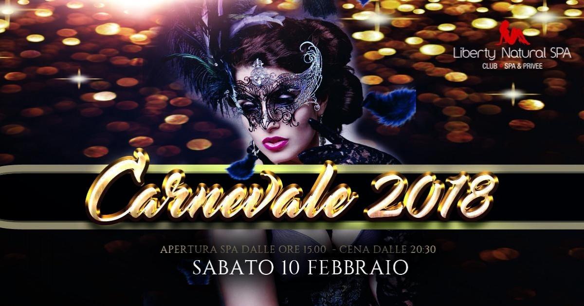 Carnevale 2018 - Liberty Natural Spa a , forli, Club Privè, Scambisti